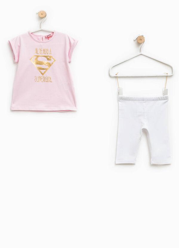 Completo t-shirt e pantaloni Supergirl | OVS
