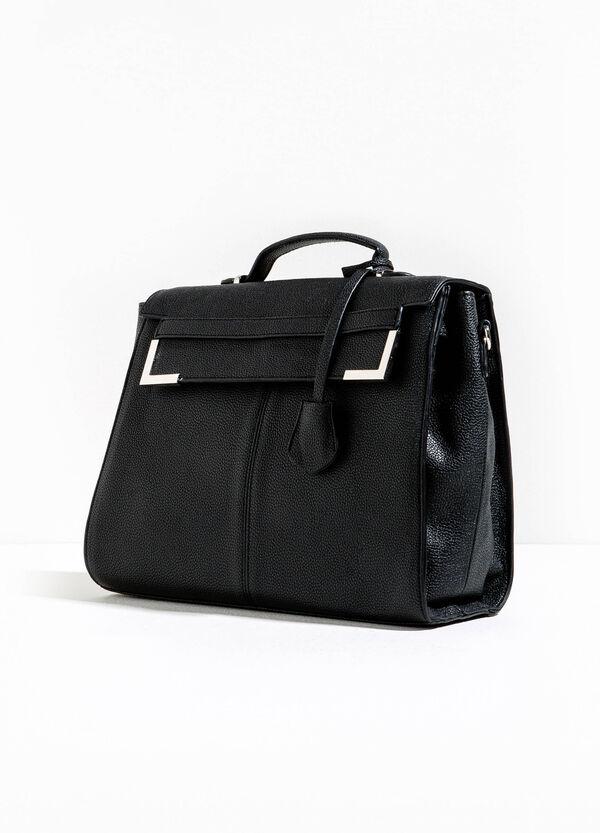 Hammered-effect briefcase bag | OVS
