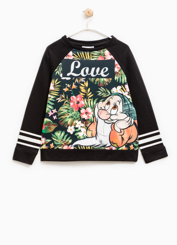 100% cotton Seven Dwarves sweatshirt | OVS