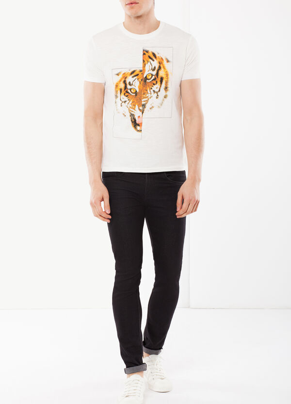 T-shirt with a print | OVS