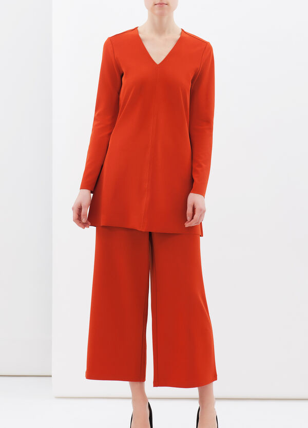 Plain stretch blouse | OVS
