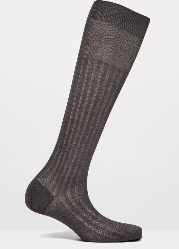 100% cotton long socks | OVS