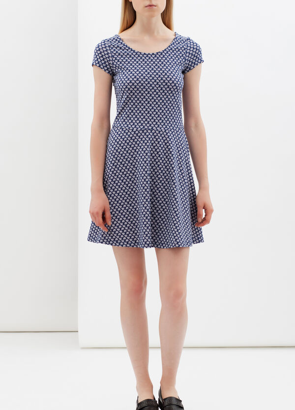 Short dress with rounded neck | OVS