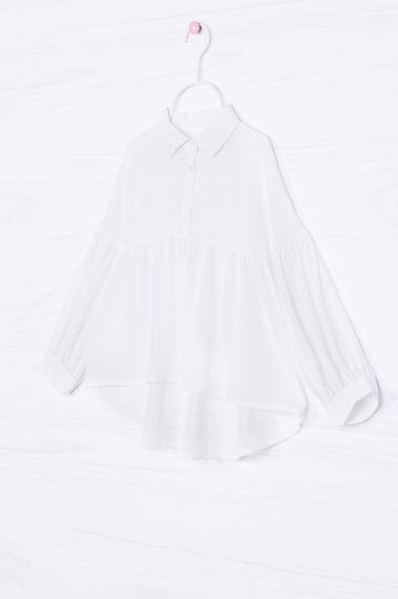 Long-sleeved shirt, White, hi-res