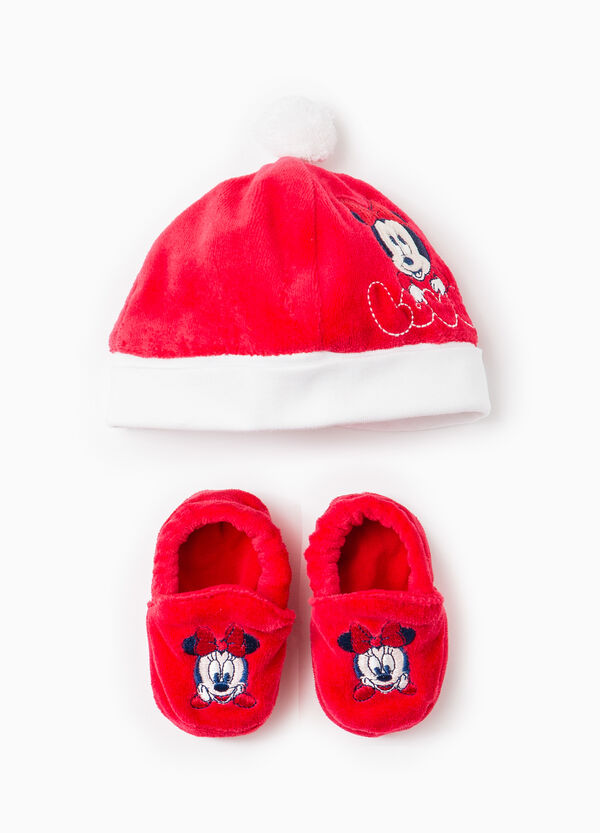 Baby Minnie Mouse hat and shoes set | OVS