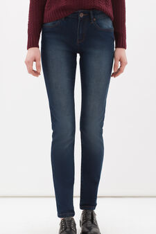 Regular-fit stretch jeans, Dark Blue, hi-res
