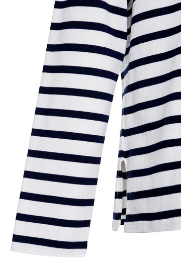 Maglia a righe Jean Paul Gaultier for OVS, Bianco/Blu, hi-res