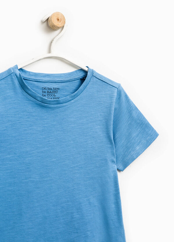 100% cotton T-shirt with patch | OVS