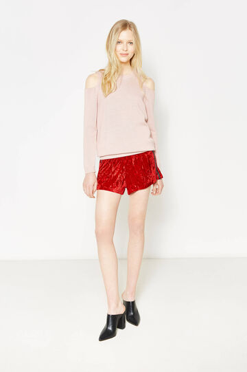 Pullover with shoulder openings, Light Pink, hi-res