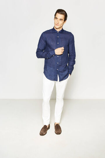 Rumford shirt with cut-away collar