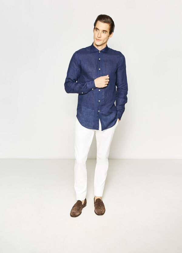 Rumford shirt with cut-away collar | OVS