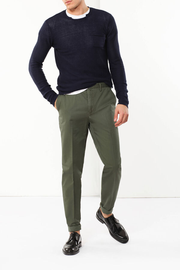 Pure cotton trousers   OVS