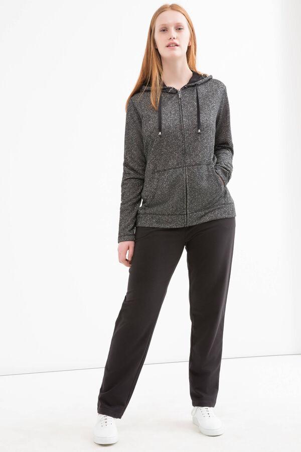 Curvy cotton blend joggers | OVS