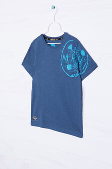 T-shirt con stampa Maui and Sons, Blu, hi-res