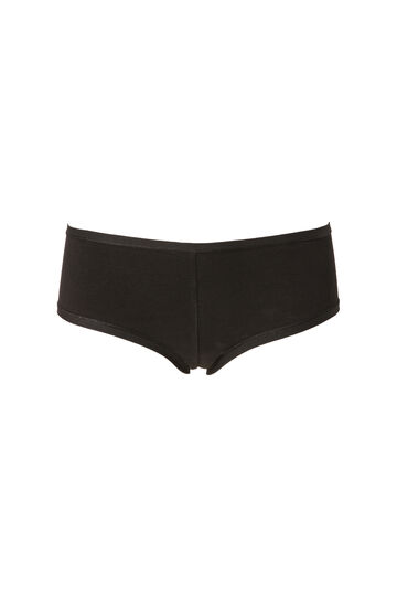Stretch cotton French knickers