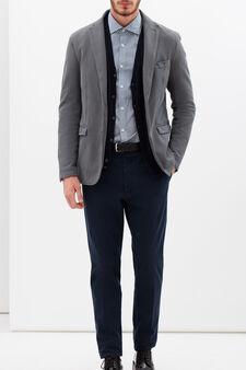 Rumford patterned shirt, White/Light Blue, hi-res