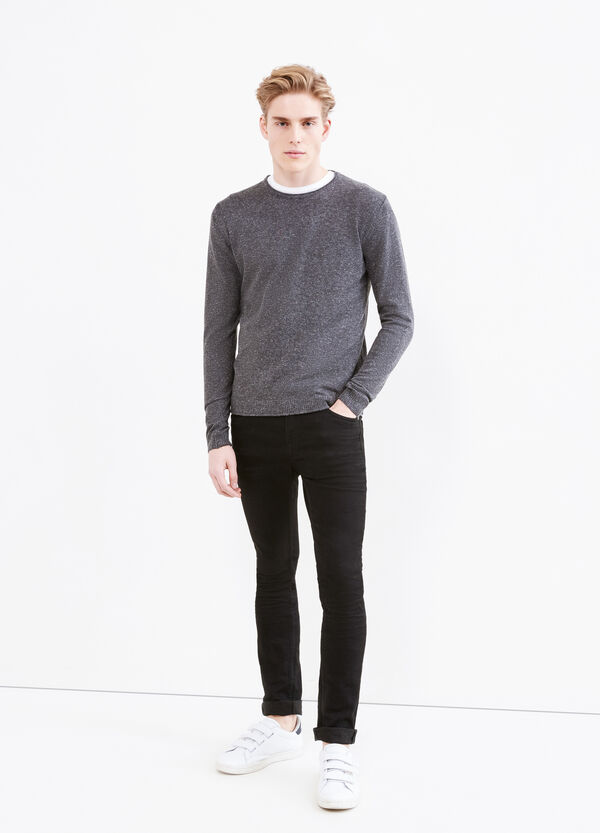 Wool and viscose mélange pullover   OVS