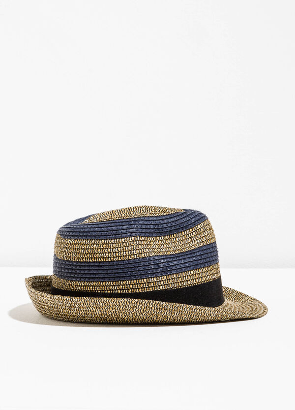 Straw hat with wide brim | OVS