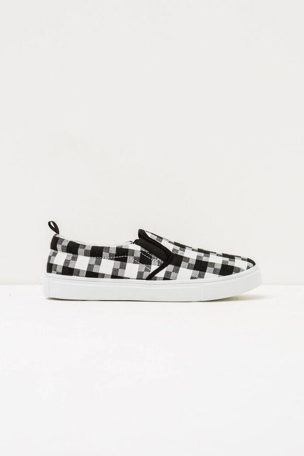 Zapatos sin cierre de cuadros   OVS