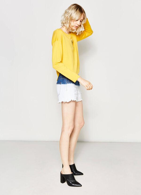 Degradé denim shorts | OVS