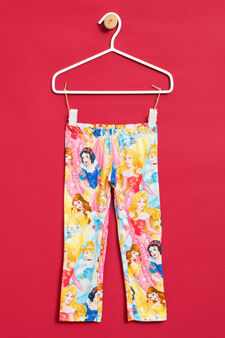Leggings with Disney Princess print, Multicolour, hi-res