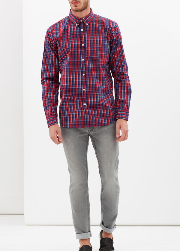 Three-colour tartan shirt | OVS