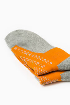 Two-pair pack OVS Active Sport Training socks, Neon Orange, hi-res