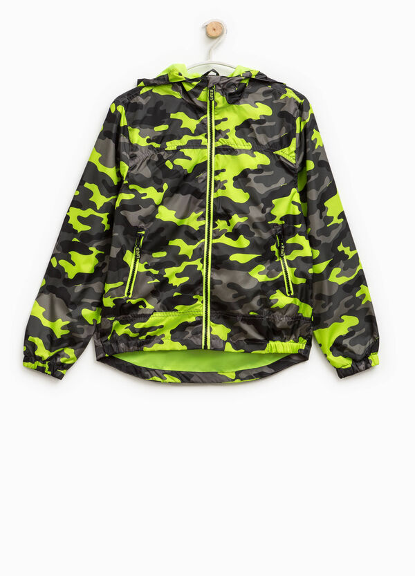 Camouflage jacket with hood | OVS