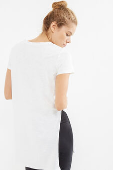 Long OVS Active Sport Training T-shirt, White, hi-res