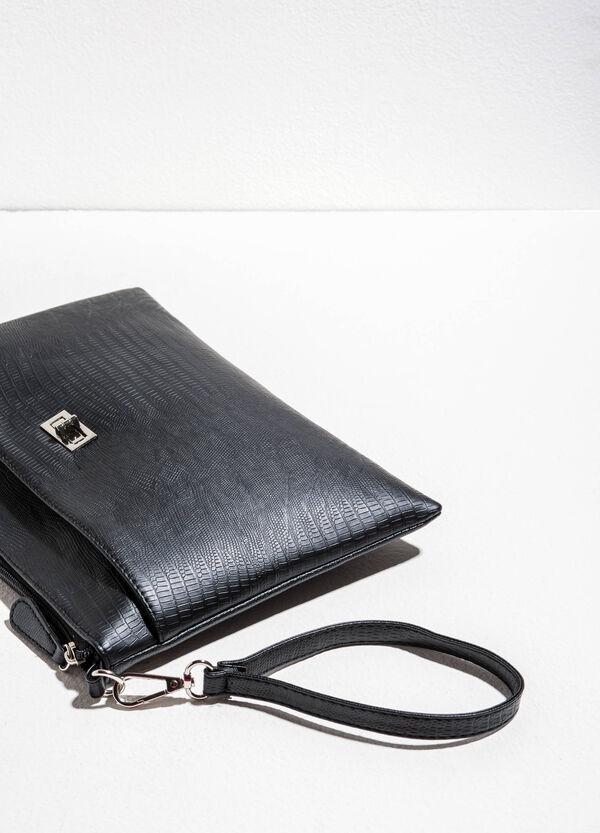 Python-effect clutch bag | OVS