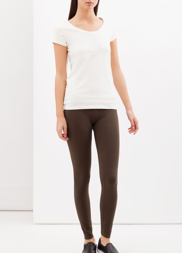 Leggings stretch tinta unita | OVS