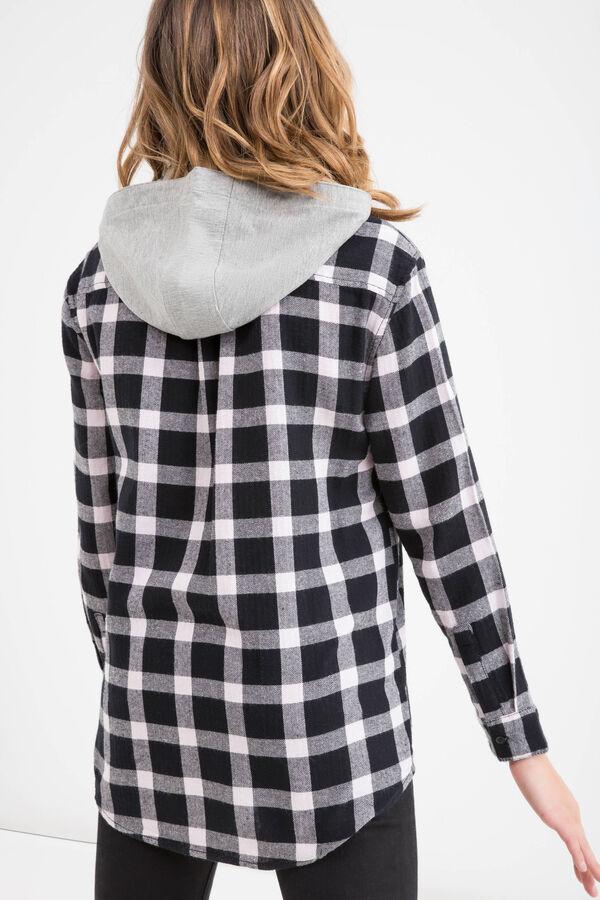 Camicia cotone fantasia Teen | OVS