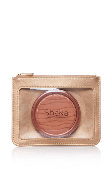 Maxi pressed bronzer with case