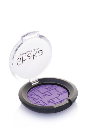 Compact matte finish eye-shadow, Lavender, hi-res