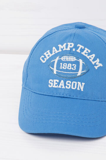 Cappello baseball in cotone ricami