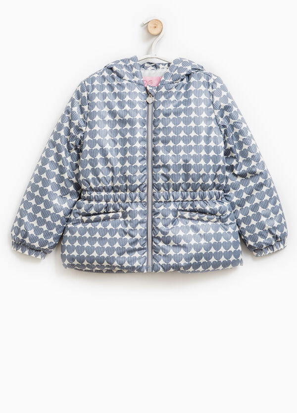 Down jacket with heart pattern | OVS