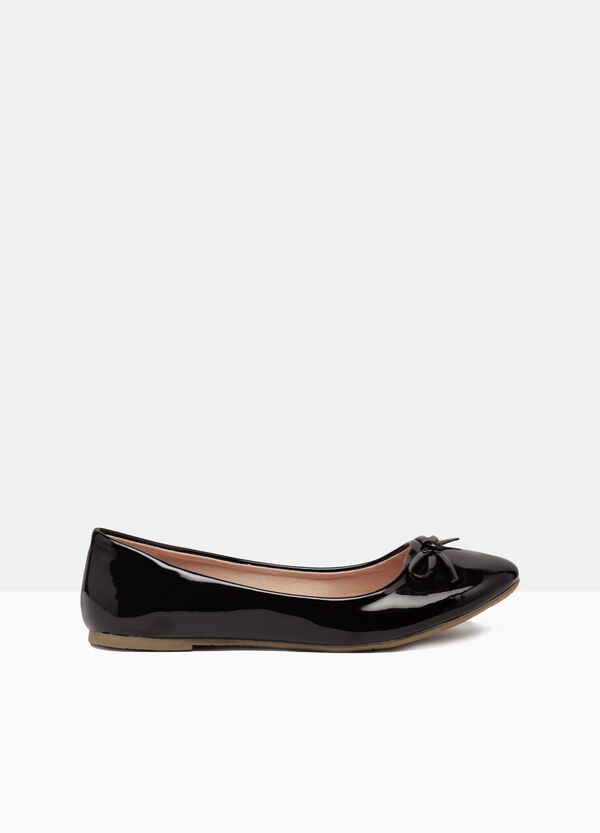 Plain colour ballerina flats | OVS