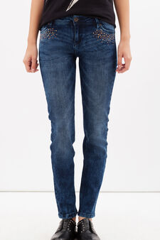 Slim fit stretch jeans, Dark Wash, hi-res