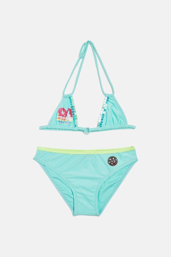 Bikini stretch con paillettes | OVS