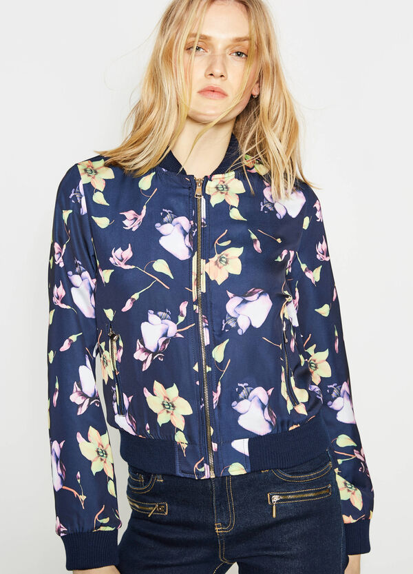 Jacket with all-over print | OVS