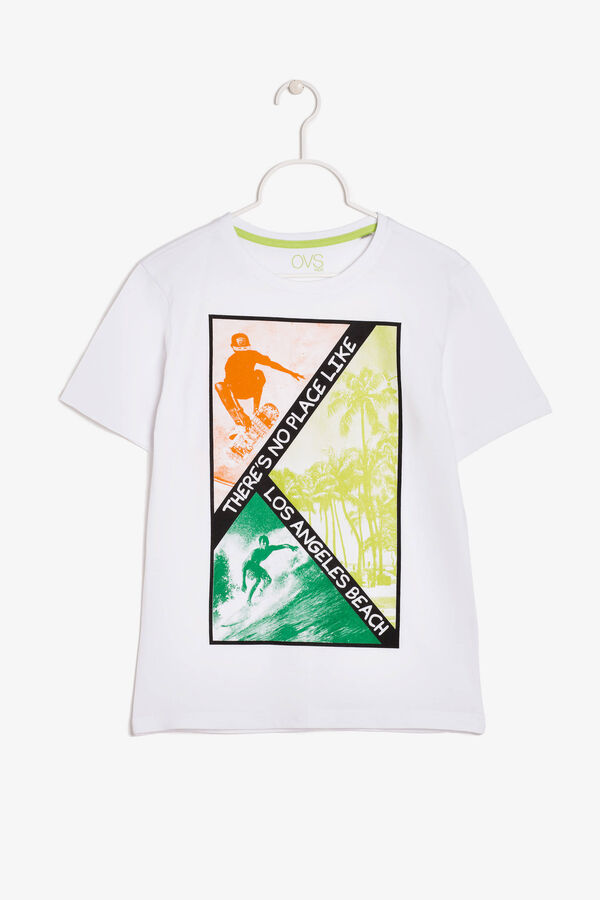 T-shirt with a print to the front | OVS
