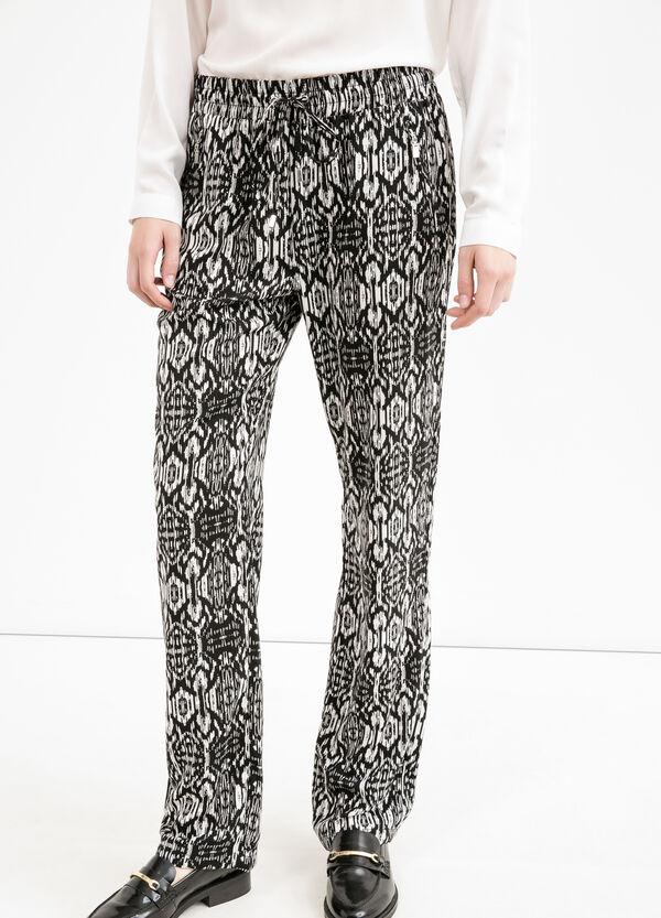 Pantaloni fantasia con coulisse | OVS
