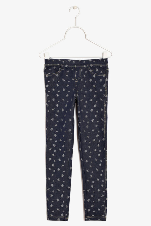 Trousers with glitter | OVS