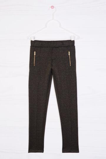 Pantaloni misto viscosa stretch