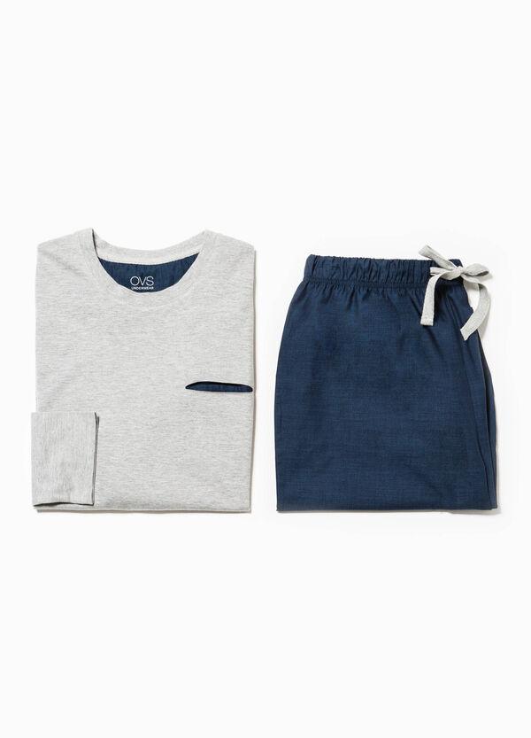 Cotton pyjamas with pocket | OVS