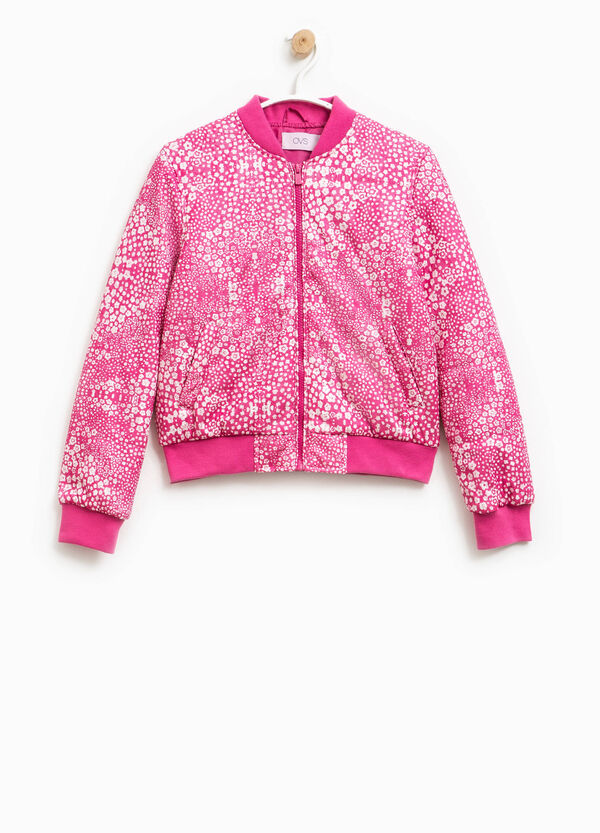 Bomber jacket with all-over print | OVS