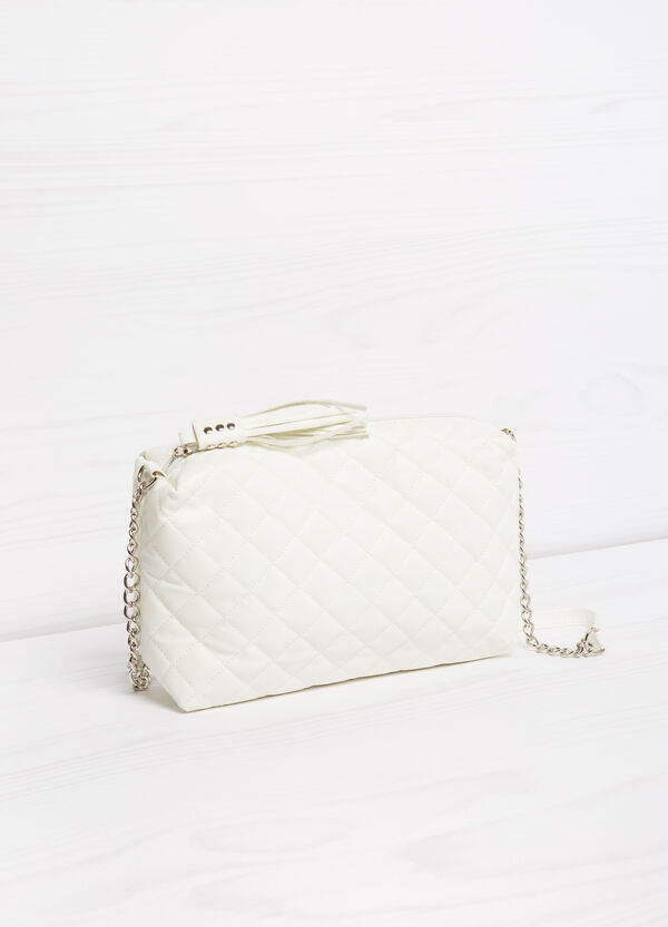 Quilted mini bag with shoulder strap | OVS