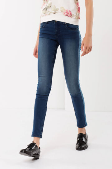 Jeans cinque tasche, Lavaggio medio, hi-res