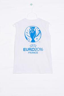 UEFA Euro 2016 vest top in 100% cotton, White, hi-res