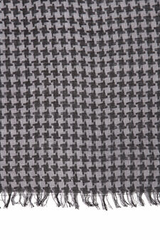 100% viscose scarf, Black, hi-res